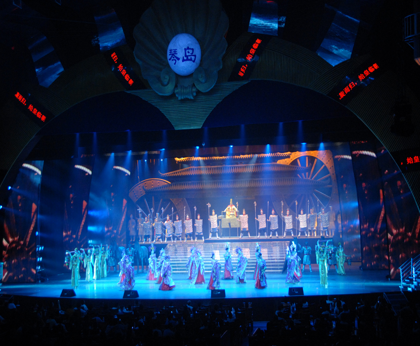 歌舞团表演某演艺厅 歌舞团演艺 歌舞团表演视频
