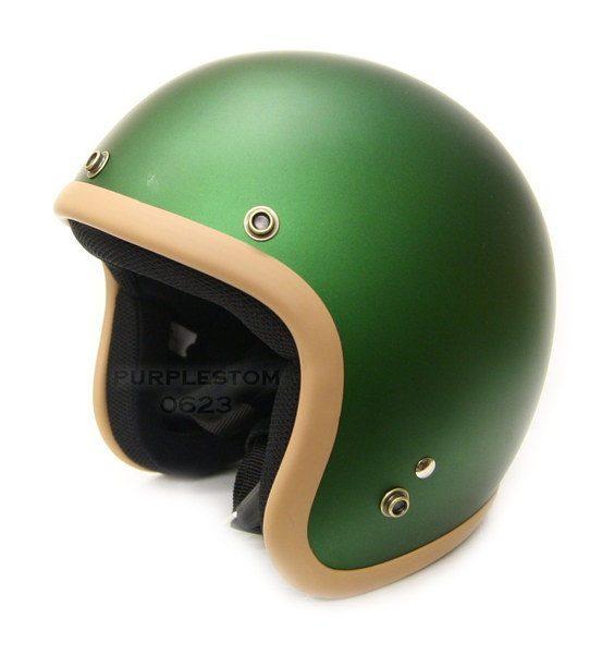 snd☆正品日本原单台湾直发asia复古哈雷头盔飞行盔