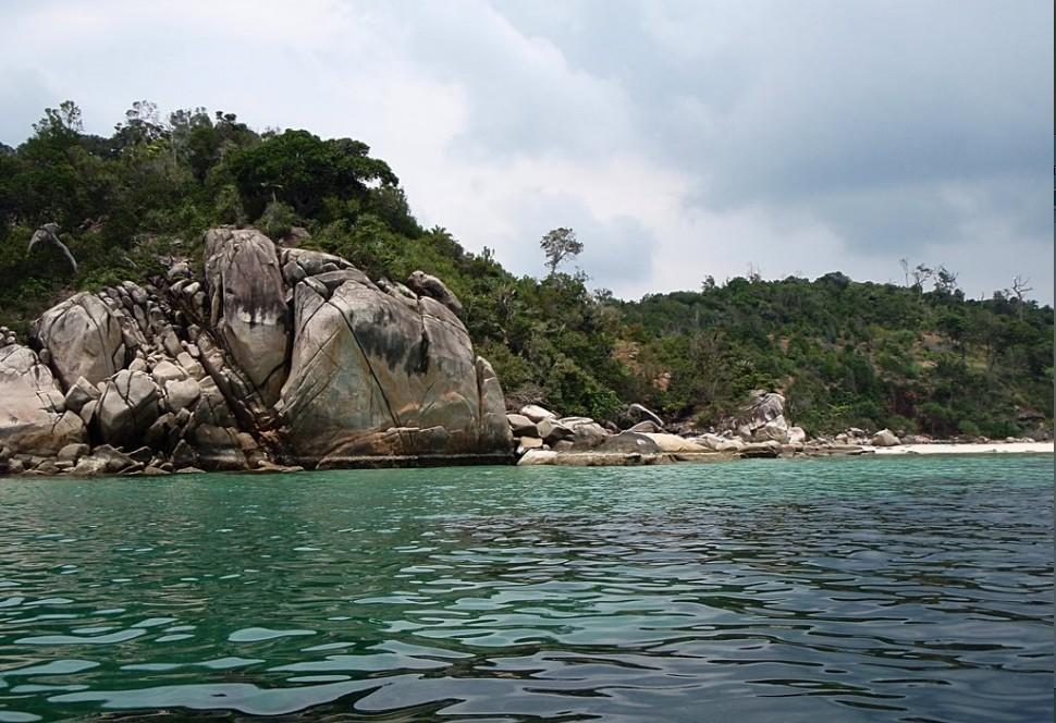 印度尼西亚民丹岛民丹湖度假村酒店 bintan lagoon resort面海房