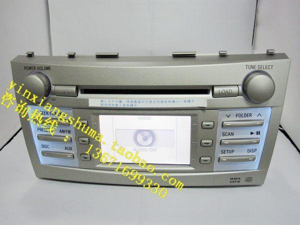 丰田6碟cd机接线图 卡罗拉的原车6碟CD机高清图片