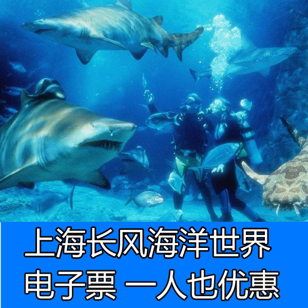 上海长风海洋世界门票 儿童票 成人票 随到随进 电子票 提前购买