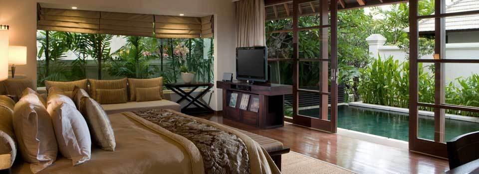 印尼酒店 巴厘岛五星级皇家桑川豪华海滩别墅浪漫