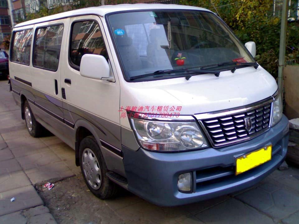 上海租车 婚车租赁 租11座丰田海狮金杯面包车 市内用车1.24--29