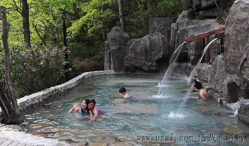 宁波景区 宁海森林温泉
