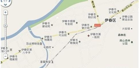 汤旺河石林景区地图