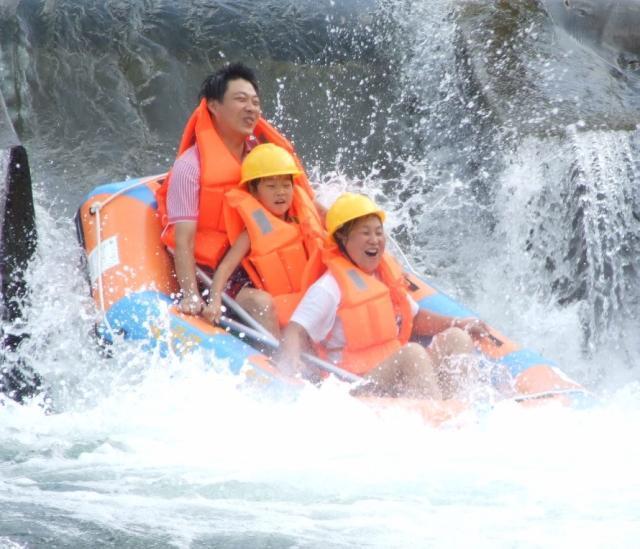 杭州淳安-千岛湖王子谷漂流-千岛湖皮筏漂流