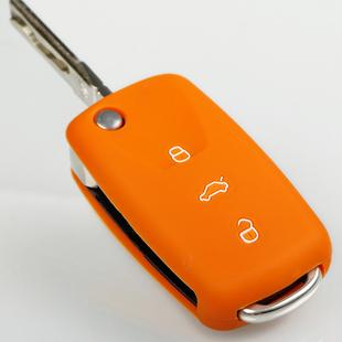 汽车 硅胶钥匙包 大众 宝来 波罗 polo 帕萨特钥匙包硅胶套 包邮