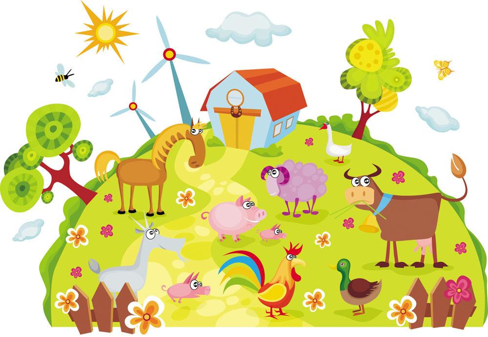 森林动物园动画图片展示