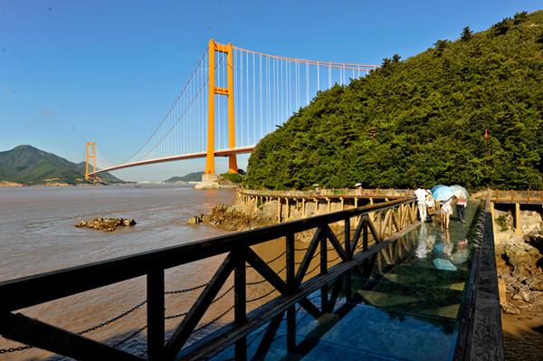 宁波甬舟高速(金塘大桥,西堠门大桥),册子岛大桥风景区