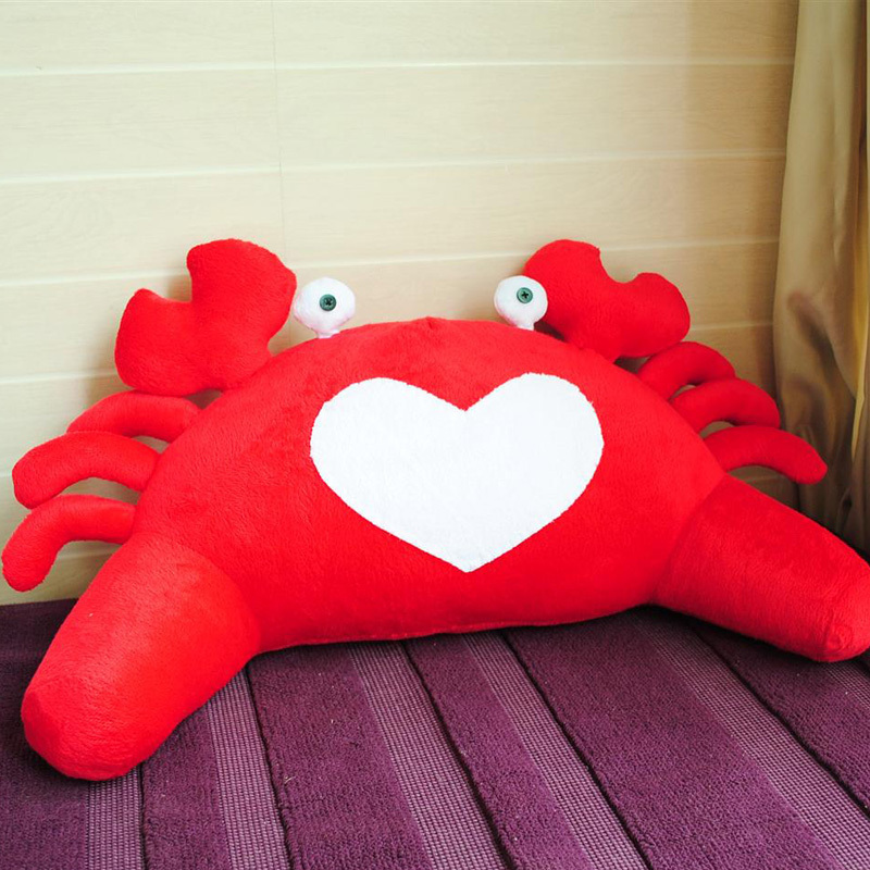 原创手工汽车腰靠腰枕车用腰垫抱枕靠背办公室巨蟹座螃蟹星座