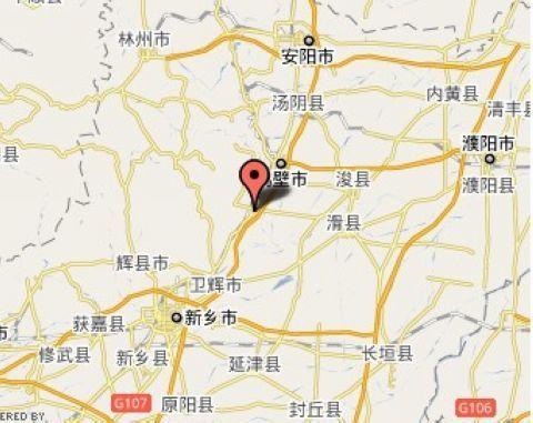 鹤壁淇县原庄电子地图