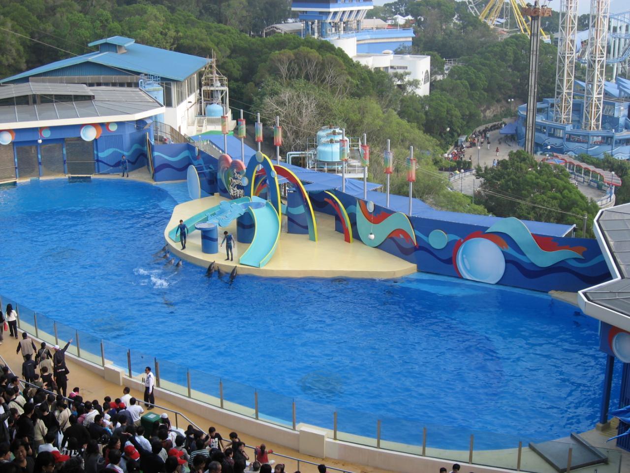 河北省--秦皇岛新澳海底世界+海豚表演馆套票
