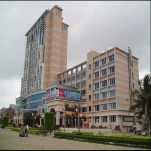 海边酒店预订 广东阳江闸坡碧珠楼宾馆 主楼园景双人房