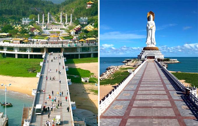 海南三亚旅游南山寺门票 南山+天涯海角 自由行景点门票预定