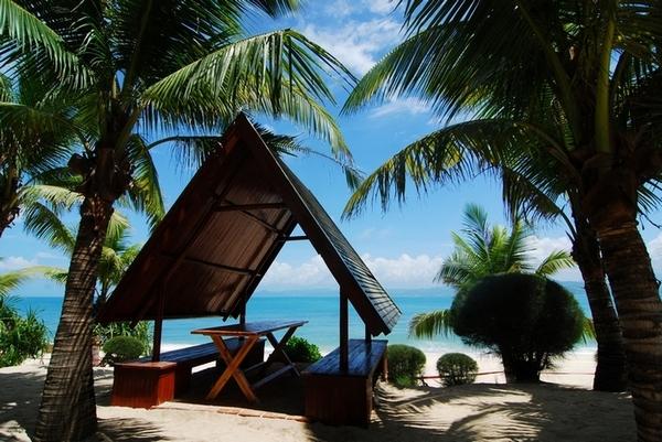 三亚西岛的观海小屋
