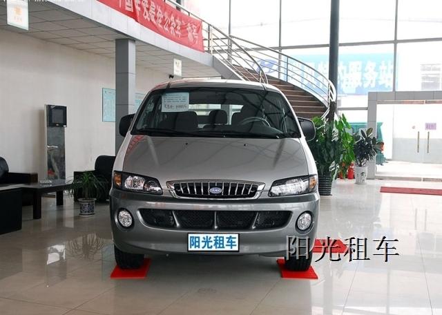 阳光租车 江淮瑞风商务车7座MPV高清图片