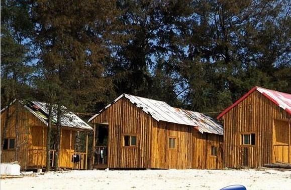 涠洲岛住宿---蓝色港湾木屋(贝壳沙滩)