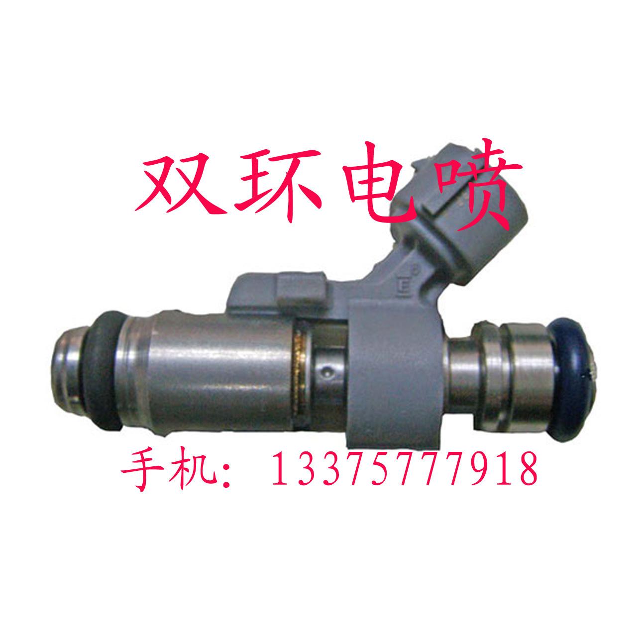 奇瑞QQ喷油嘴 QQ311 QQ308 马瑞利 2孔 灰色 喷油嘴保质量高清图片