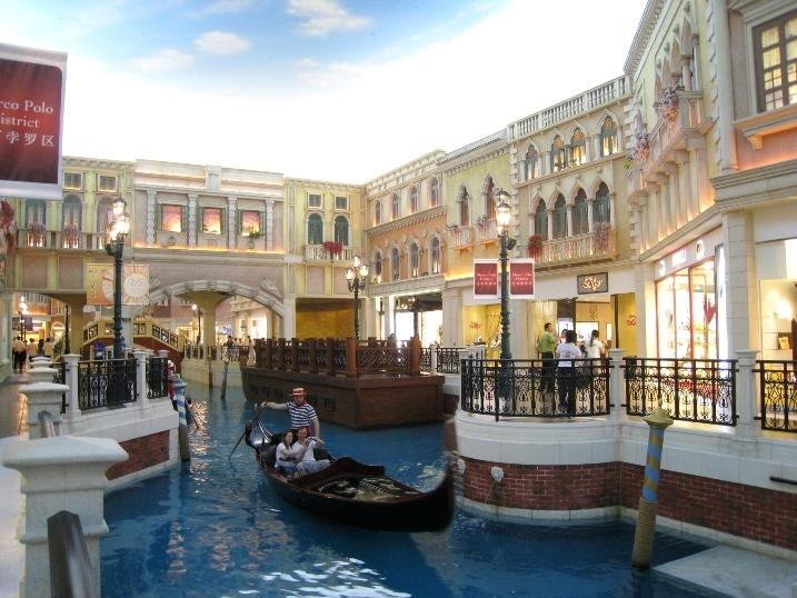 澳门威尼斯人贡多拉哪条河好玩