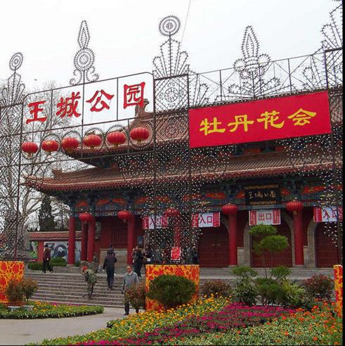 2013洛阳牡丹文化节看牡丹王城公园门票【含动物园】