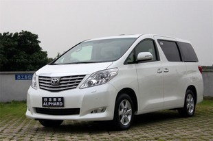 杭州租车 进口丰田埃尔法7座明星保姆车高清图片