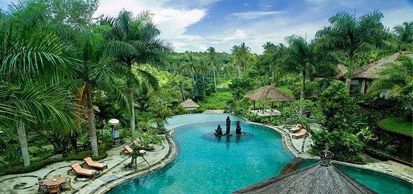 spa巴厘岛乌布富丽华泳池别墅