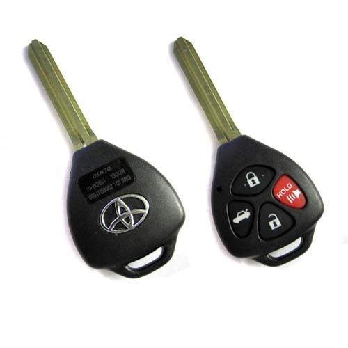 冲冠特惠1020丰田美规四键直板遥控钥匙替换外壳