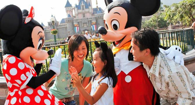 香港迪士尼乐园门票小孩