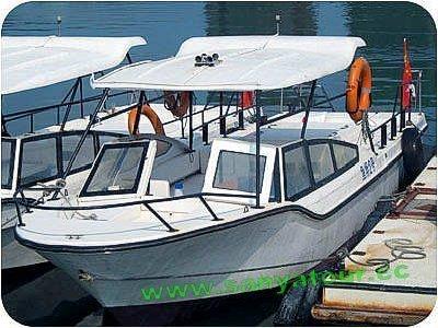 海域观光海钓包船游