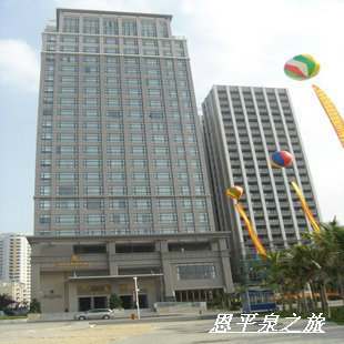 阳江闸坡阳光半岛国际酒店高级大床房(一线海边酒店)