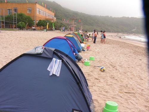 珠海荷包岛帐篷住宿二天套餐(酒店+船票)138