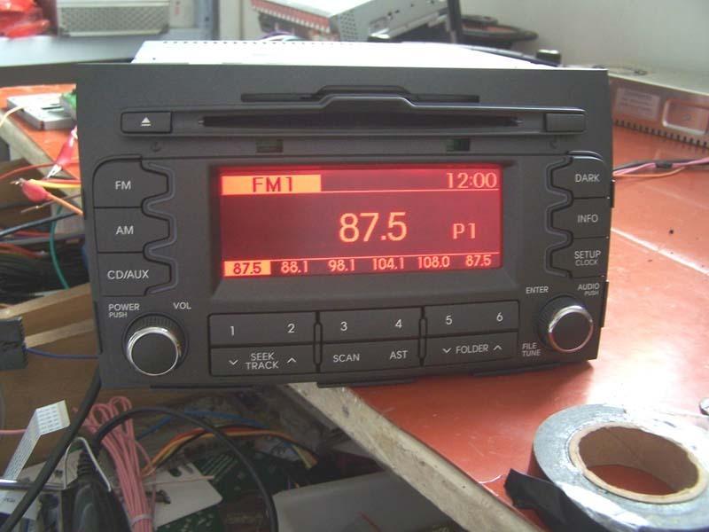 汽车cd接功放接线图,瑞虎cd接线图,现代ix35原车cd接线图,汽高清图片