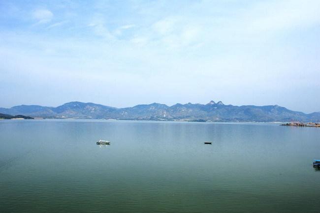 游莱芜雪野湖感赋 - 一帘竹影 - 一帘竹影