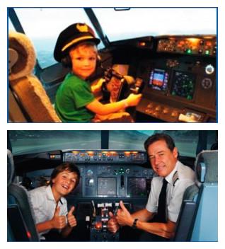 美国波音737客机模拟驾驶