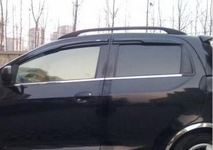奇瑞瑞麒x1 qq qq6 旗云1 专用改装车窗饰条 下窗亮条 高清图片