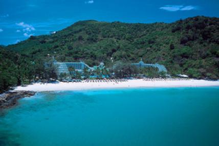 泰国普吉岛酒店-le meridien phuket艾美沙滩度假酒店